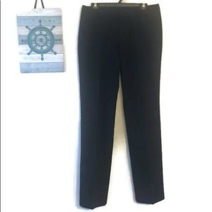NEW Eddie Bauer NAVY Mercer Fit trouser pant 8Tall